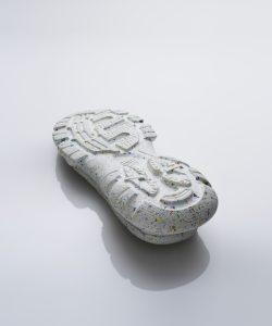 suola per scarpe in materiale riciclato